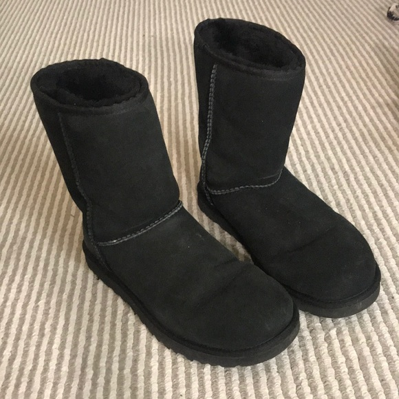 UGG Shoes - Black short Ugg boots
